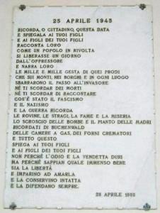 24  aprile Liberazione Italia